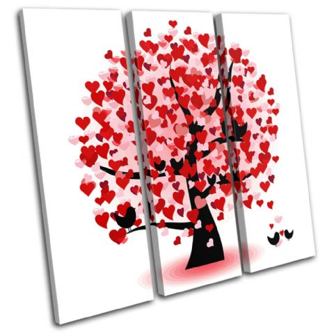 Heart Tree Love - 13-1859(00B)-TR11-LO